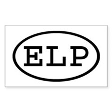 ELP Oval Rectangle Decal