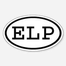 ELP Oval Oval Decal