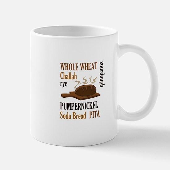 BREAD TYPES Mugs