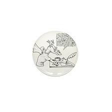 Creative Dragon Mini Button (10 pack)