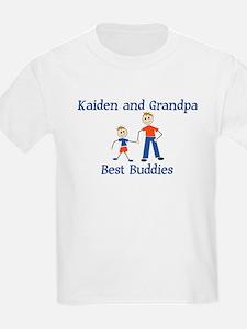 Kaiden & Grandpa - Best Buddi T-Shirt