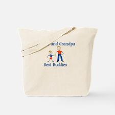 Kaiden & Grandpa - Best Buddi Tote Bag