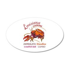 LOUISIANA COOKING Wall Decal