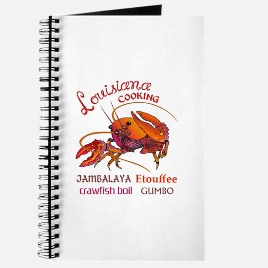 LOUISIANA COOKING Journal