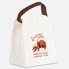 LOUISIANA COOKING Canvas Lunch Bag