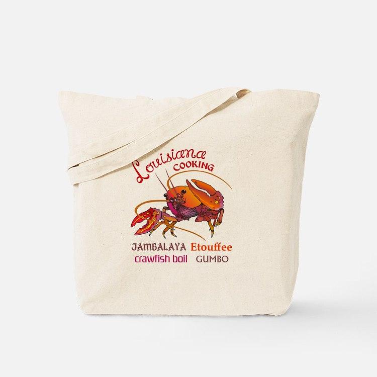 LOUISIANA COOKING Tote Bag