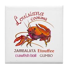 LOUISIANA COOKING Tile Coaster