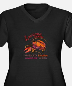 LOUISIANA COOKING Plus Size T-Shirt