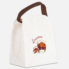 LOUISIANA CRAWDAD Canvas Lunch Bag