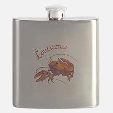 LOUISIANA CRAWDAD Flask