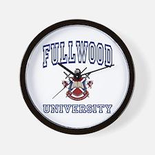 FULLWOOD University Wall Clock