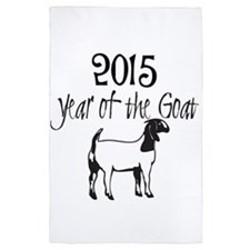 Year of the Goat Boer Goat 4' x 6' Rug
