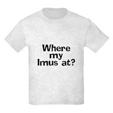 Where Imus at? - T-Shirt
