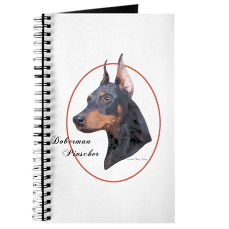 Doberman Pinscher Cameo Journal