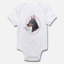 Doberman Pinscher Cameo Infant Creeper