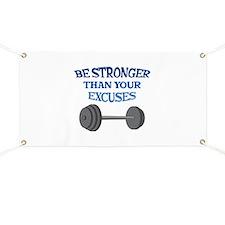 BE STRONGER Banner