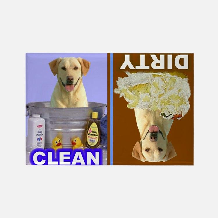 Yellow Lab Dishwasher Magnet