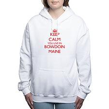 Keep calm you live in Bo Women's Hooded Sweatshirt