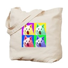 Trooper the Samoyed Tote Bag