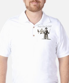 Party Like It's 1347 Golf Shirt