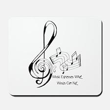 MusicExpression Mousepad