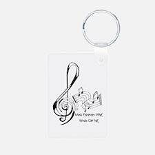 MusicExpression Keychains