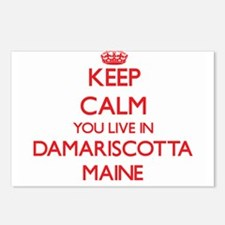 Keep calm you live in Dam Postcards (Package of 8)