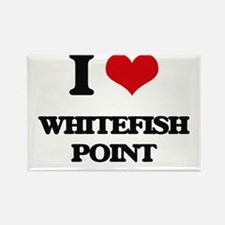 I Love Whitefish Point Magnets