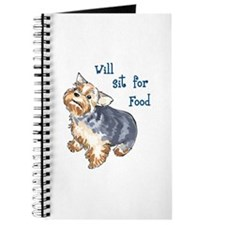 WILL SIT FOR FOOD Journal