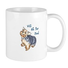 WILL SIT FOR FOOD Mugs