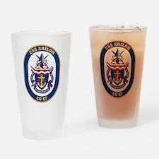 USS Shiloh CG-67 Drinking Glass