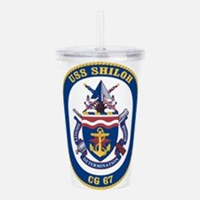 USS Shiloh CG-67 Acrylic Double-wall Tumbler