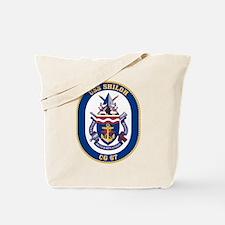 USS Shiloh CG-67 Tote Bag
