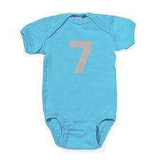SILVER #7 Baby Bodysuit