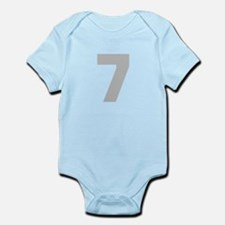 SILVER #7 Infant Bodysuit