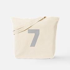 SILVER #7 Tote Bag