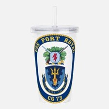 USS Port Royal CG-73 Acrylic Double-wall Tumbler