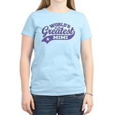 World's Greatest Mimi T-Shirt