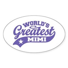 World's Greatest Mimi Decal