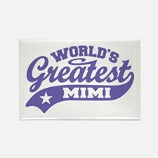 World's Greatest Mimi Rectangle Magnet