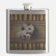 Panda Bear Love Flask