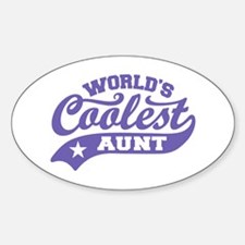 World's Coolest Aunt Decal