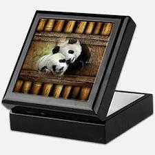 Panda Bear Love Keepsake Box