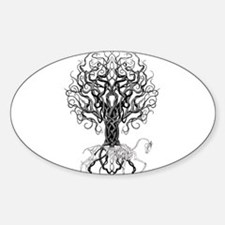Celtic Tree Horse Decal