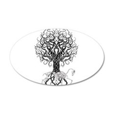 Celtic Tree Horse Wall Decal