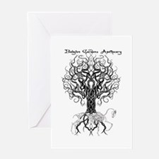 Celtic Tree Horse Greeting Cards