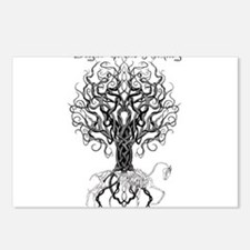 Celtic Tree Horse Postcards (Package of 8)