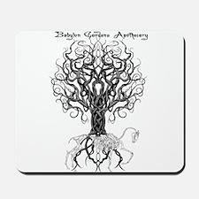 Celtic Tree Horse Mousepad