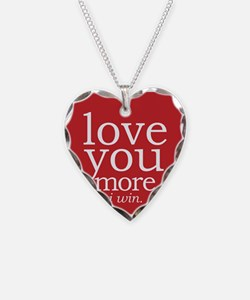 Love You More.i Win. Necklace