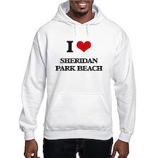 I Love Sheridan Park Beach Hoodie